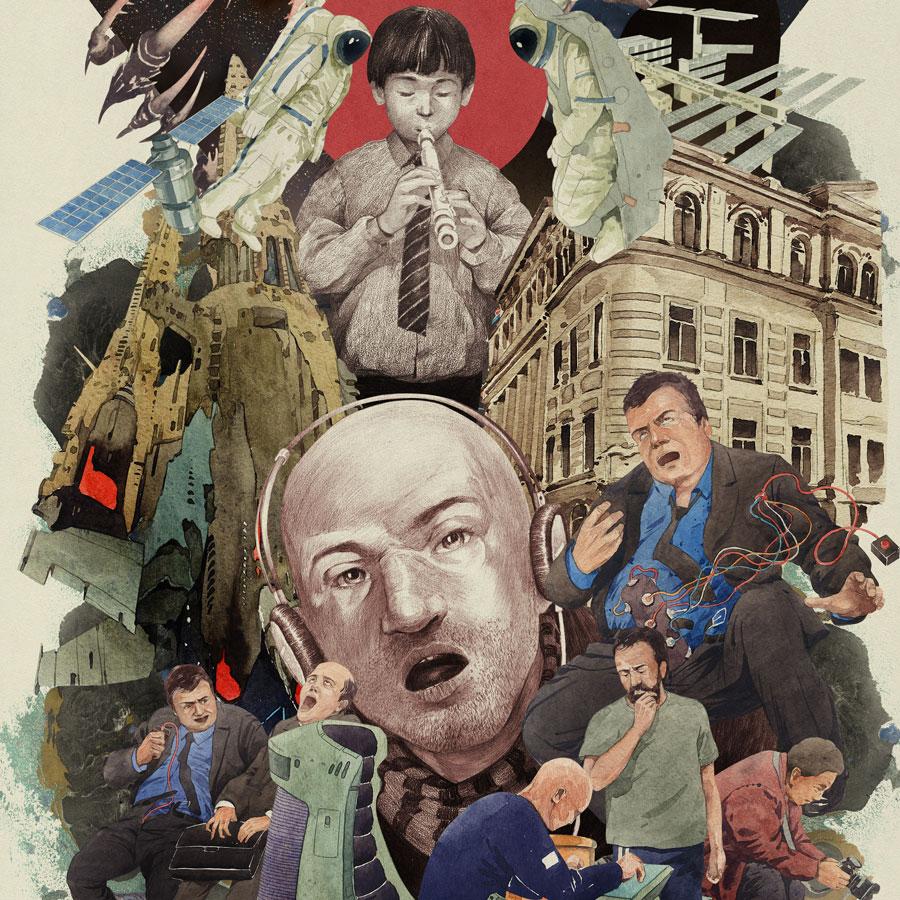 Illustrator Artist Dmitry Ligay