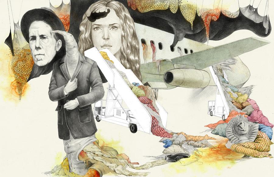 Illustration & Drawing by Dmitry Ligay