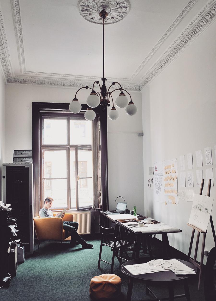 Art residency in Prague